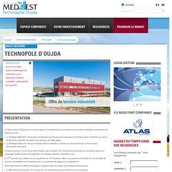 Investir dans le projet de la Technopole d'Oujda - MEDZ (Groupe CDG)