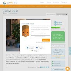 Investir dans Zéphyr Solar avec Sowefund
