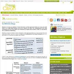 Mesurer le retour sur investissement d'un blog d'entreprise