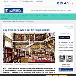 Les meilleurs livres sur l'investissement - Immobilier, bourse, stratégie, etc