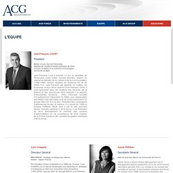STAFF ACG Management France