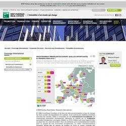 Investissement immobilier en Europe: quelles opportunités et perspectives 2016 ?