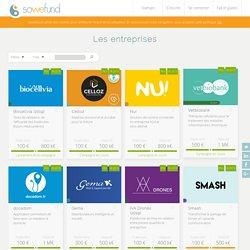 Startups en investissement sur Sowefund, la plateforme de l'innovation
