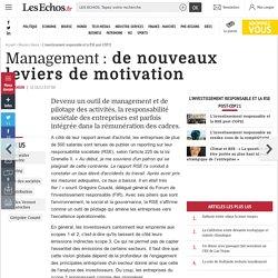 Management: de nouveaux leviers de motivation, L'investissement responsable et la RSE post-COP21