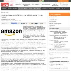Les investissements d'Amazon se soldent par de...