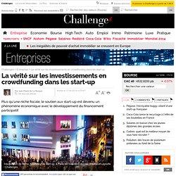 La vérité sur les investissements en crowdfunding dans les start-up - 17 avril 2014