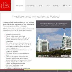 Investissements immobiliers et Visas Gold au Portugal