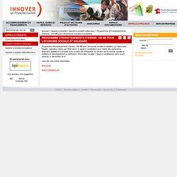Programme d'investissements d'avenir: 100 M€ pour l'économie sociale et solidaire – Appels à projets nationaux – Appels à projets