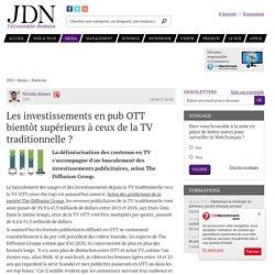 Les investissements en pub OTT bientôt supérieurs à ceux de la TV traditionnelle ? - JDN