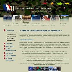 11ème Université d'été de la Défense