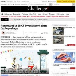 Renault et la SNCF investissent dans l'autopartage - 17 septembre 2013
