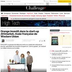 Afrimarket, Orange investit dans la rivale française de Western Union
