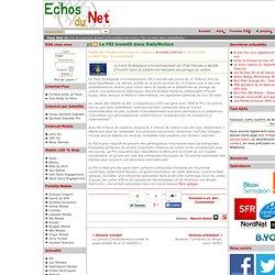 Le FSI investit dans DailyMotion Internet Actualité - Echos du N