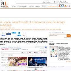 Au Japon, Yahoo! investit plus encore la vente de manga numérique