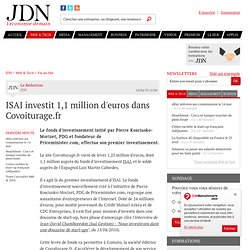 ISAI investit 1,1 million d'euros dans Covoiturage.fr - Journal