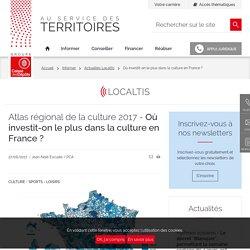 Où investit-on le plus dans la culture en France ?