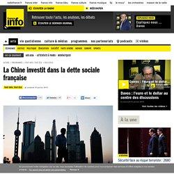 La Chine investit dans la dette sociale française