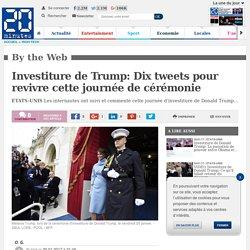 Investiture de Trump: Dix tweets pour revivre cette journée de cérémonie