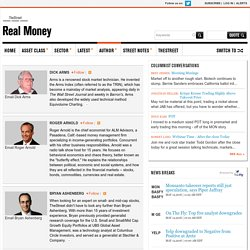 Investment Advisors - Meet the Authors Behind RealMoney - RealMoney