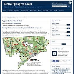 Big plans for the future Detroit : Detroit Progress