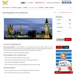 UK Border Agency Tier 1 Investor Visa
