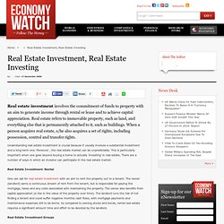 Real Estate Investment, Real Estate Investing