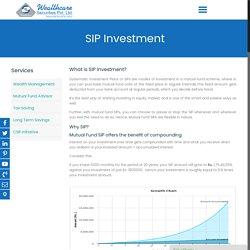 SIP Investment Plan