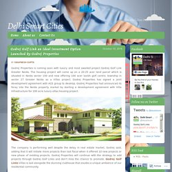 Godrej Golf Link an Ideal Investment Option Launched By Godrej Properties