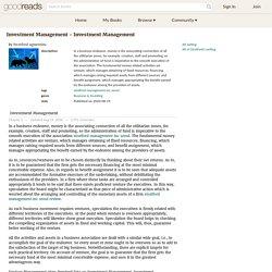 Investment Management - Investment Management by Stratford agmentinc