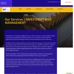 Investment Risk Management Plan NZ, Loans and Investment Services