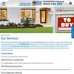Negotiating property purchases QUEENSLAND