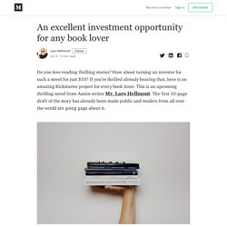 An excellent investment opportunity for any book lover