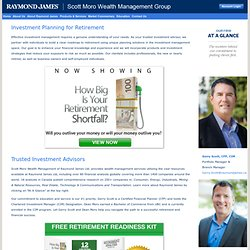 Vancouver Scott Moro Wealth Management