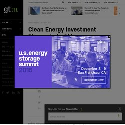Clean Energy Investment Plummets in Ohio