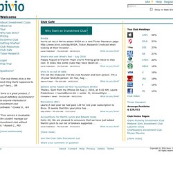 Investment Club Accounting, Tax Preparation and Management Software - bivio Investment Clubs
