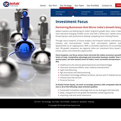 India Private Equity Funds - Kotak Private Equity