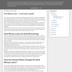 Investment Property Loans - Capital Concepts: Hard Money Loan — A borrower's guide!