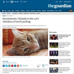Investments: Orlando is the cat's whiskers of stock picking