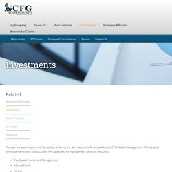 Online Investment Strategies and Management Services