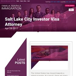 Salt Lake City Investor Visa Attorney - Gloria Cardenas