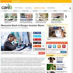 Investor Warns: Monsanto Stock Leaves Bad Aftertaste