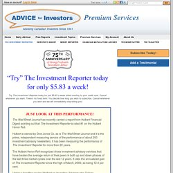 The Investment Reporter