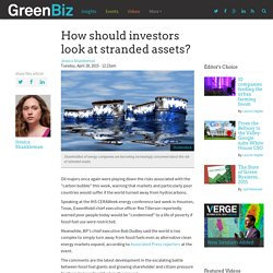How should investors look at stranded assets?