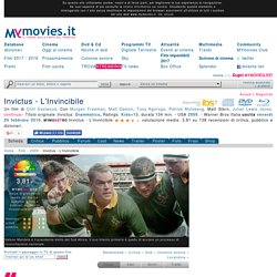 Invictus - L'Invincibile (2009) - MYmovies.it