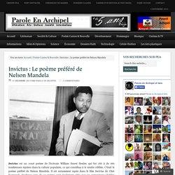 Invictus : Le poème préféré de Nelson Mandela