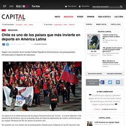 Chile es uno de los países que más invierten en deporte en América Latina