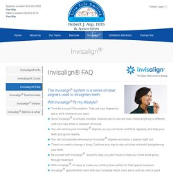 Invisalign FAQ Appleton Fox Valley Green Bay Neenah - Live Life Smiling