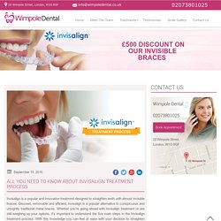 All You Need to Know about Invisalign Treatment Process