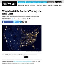 Invisible Borders Trump the Real Ones