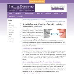 Invisible Braces In West Palm Beach FL
